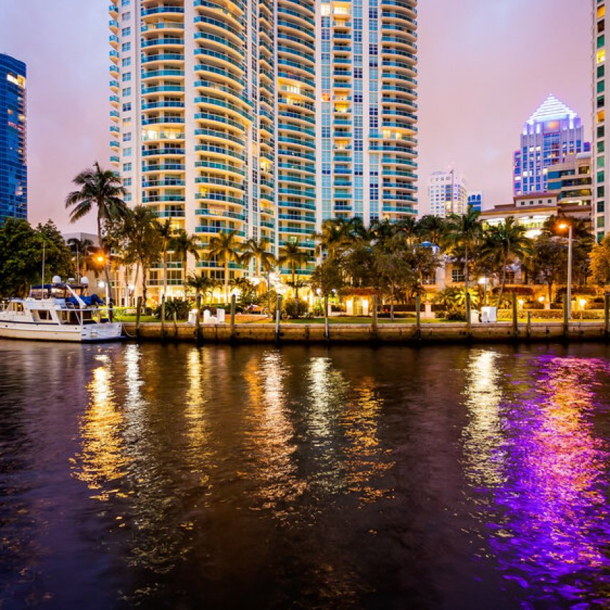 Photo of Fort Lauderdale waterfront